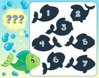 Fish riddle theme image 7 Stock Photos
