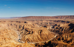 Fish River canyon Royalty Free Stock Image