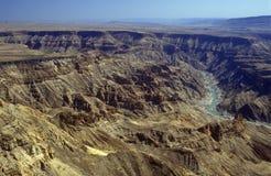 Fish River Canyon stock photography