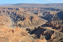 Fish River Canyon at Hobas, Namibia Stock Photography