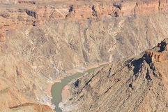 Fish River Canyon. Hobas, Namibia Stock Images