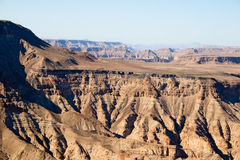 Fish River Canyon in Namibia Royalty Free Stock Images