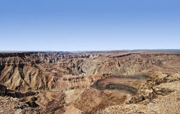 Fish river canyon Namibia Royalty Free Stock Photos