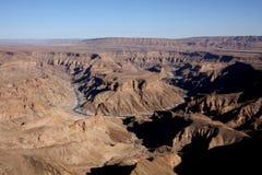 Fish River Canyon Namibia Stock Image