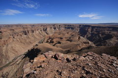 Fish River Canyon Namibia Royalty Free Stock Images
