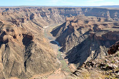 Fish River Canyon in Namibia Royalty Free Stock Image
