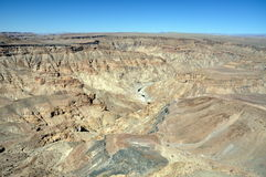 Fish River Canyon, Namibia Stock Photos