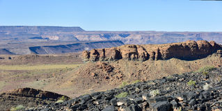 Fish River Canyon -Namibia, Africa Royalty Free Stock Photography