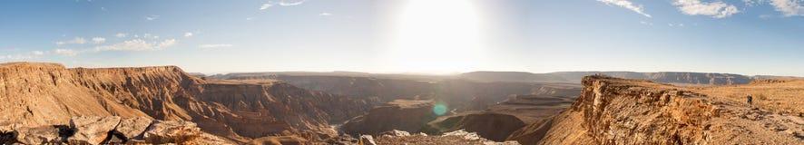 Fish River Canyon, Namibia Royalty Free Stock Photography