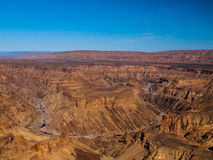 Fish River Canyon. The second largest canyon in the world (Namibia Royalty Free Stock Image