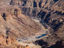 Fish River Canyon Royalty Free Stock Images