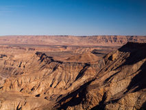 Fish River Canyon. The second largest canyon in the world (Namibia Stock Photo