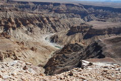 Fish River Canyon. South Namibia stock photography