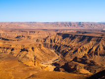 Fish River Canyon Stock Photo