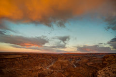 Fish River Canyon. Sunrise at Fish River Canyon is something spectacular, especially when there is clouds, and that don't happen very often Stock Photography