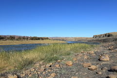 The Fish River in Namibia Stock Image