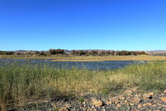 The Fish River in Namibia Royalty Free Stock Photos