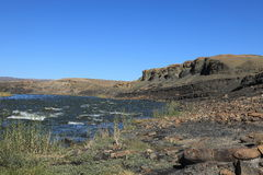 The Fish River in Namibia Stock Photography