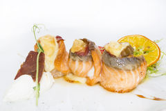Fish rolls Stock Image