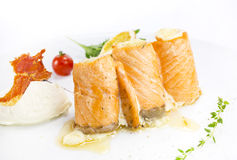 Fish rolls Royalty Free Stock Images
