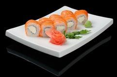 Fish rolls Stock Images