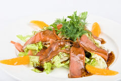 Fish salad Stock Images
