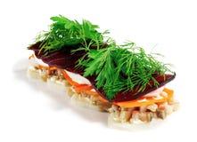 Fish Salad Stock Images
