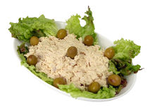 Fish salad Royalty Free Stock Images