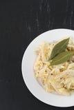 Fish salad on plate Stock Photography