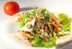 Fish salad Royalty Free Stock Photography