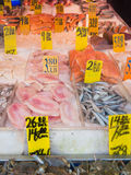 Fish for sale at Chinatown in New York Stock Image