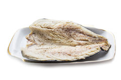 Fish, salted mackerel. With spice Royalty Free Stock Photo