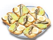 Fish sandwich Stock Photography