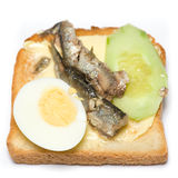 Fish sandwich Stock Images