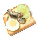 Fish sandwich Stock Photo
