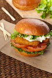 Fish Sandwich Royalty Free Stock Image