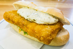Fish sandwich Stock Photo