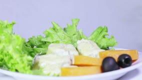 Fish sauce stock video footage