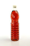 Fish sauce in plastic bottle isolated on white background Royalty Free Stock Photo