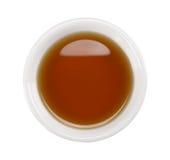 Fish sauce in white bowl Stock Photo