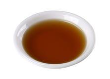 Fish sauce in white bowl Stock Photos