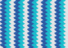 Fish scale abstract background pattern in grey and blue. Vector Illustration decoration design. Stock Photos