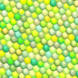 Fish scale green abstract pattern Royalty Free Stock Images