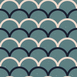 Fish scale japanase seamless pattern vector royalty free illustration