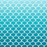 Fish scale and mermaid background. Mermaid tale on trendy gradient background. Square backdrop with mermaid tale ornament. Bright color transitions. Fish scale Stock Photo