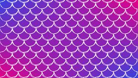 Fish scale and mermaid background. Squama on trendy gradient background. Horizontal backdrop with squama ornament. Bright color transitions. Mermaid tail banner Royalty Free Stock Images
