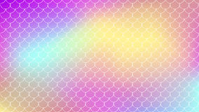 Fish scale and mermaid background. Mermaid tale on trendy gradient background. Horizontal backdrop with mermaid tale ornament. Bright color transitions. Fish Royalty Free Stock Images