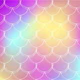 Fish scale and mermaid background Stock Photography
