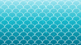 Fish scale and mermaid background. Mermaid scale on trendy gradient background. Horizontal backdrop with mermaid scale ornament. Bright color transitions. Fish Royalty Free Stock Photos
