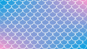 Fish scale and mermaid background. Fish scale on trendy gradient background. Horizontal backdrop with fish scale ornament. Bright color transitions. Mermaid tail Stock Photos